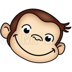 Curious George T Shirt Iron on Transfer Decal #1