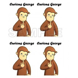 Curious George T Shirt Iron on Transfer Decal #2