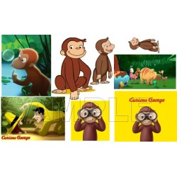 Curious George T Shirt Iron on Transfer Decal #3