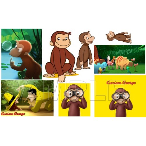 Curious George T Shirt Iron on Transfer Decal #3 by www.shopironons.com