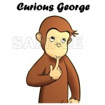Curious George T Shirt Iron on Transfer Decal #7 by www.shopironons.com