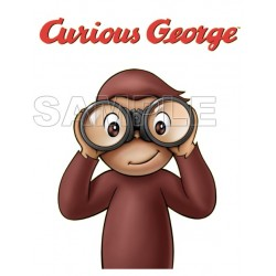 Curious George T Shirt Iron on Transfer Decal #8