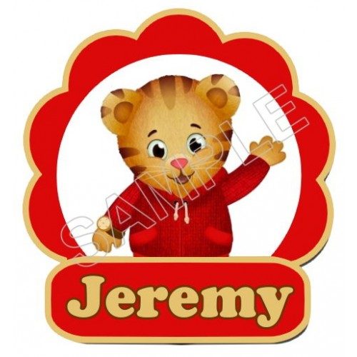 Daniel Tiger s Neighborhood Custom Personalized T Shirt Iron on Transfer Decal #77 by www.shopironons.com