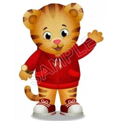 Daniel Tiger's Neighborhood T Shirt Iron on Transfer Decal #1