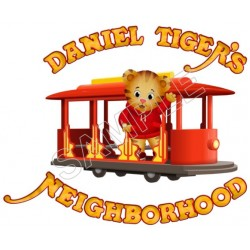 Daniel Tiger's Neighborhood T Shirt Iron on Transfer Decal #2