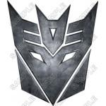 Decepticon Logo Transformers T Shirt Iron on Transfer Decal #9 by www.shopironons.com