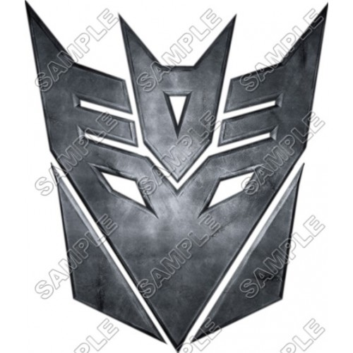 Decepticon Logo Transformers T Shirt Iron on Transfer Decal #9 by www.shopironons.com