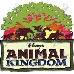 Disney Animal Kingdom T Shirt Iron on Transfer Decal #1