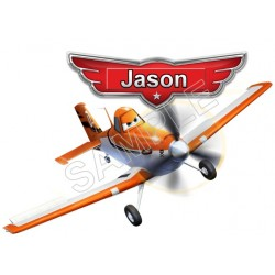 Disney Planes Birthday Personalized Custom T Shirt Iron on Transfer Decal #20
