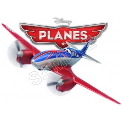 Disney Planes T Shirt Iron on Transfer Decal #2