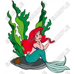 Disney Princess Ariel Little Mermaid T Shirt Iron on Transfer Decal #5