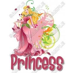 Disney Princess Aurora T Shirt Iron on Transfer Decal #19