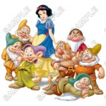 Disney Princess Snow White and the Seven Dwarfs T Shirt Iron on Transfer Decal #1 by www.shopironons.com