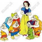 Disney Princess Snow White and the Seven Dwarfs T Shirt Iron on Transfer Decal #2 by www.shopironons.com