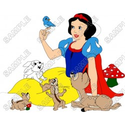 Disney Princess Snow White T Shirt Iron on Transfer Decal #3