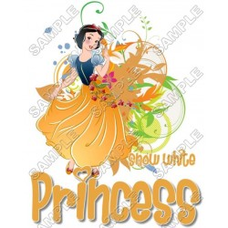 Disney Princess Snow white T Shirt Iron on Transfer Decal #6