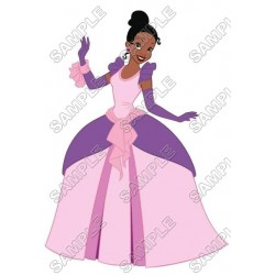 Disney Princess Tiana T Shirt Iron on Transfer Decal #10