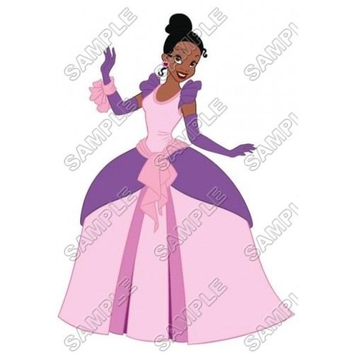 Disney Princess Tiana T Shirt Iron on Transfer Decal #10 by www.shopironons.com