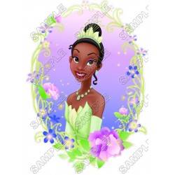 Disney Princess Tiana T Shirt Iron on Transfer Decal #8