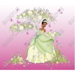 Disney Princess Tiana T Shirt Iron on Transfer Decal #9