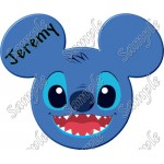 Disney Vacation Stitch Custom Personalized T Shirt Iron on Transfer Decal #29 by www.shopironons.com