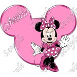 Disney World Vacation Minnie Mouse Custom Personalized T Shirt Iron on Transfer Decal #31 by www.shopironons.com