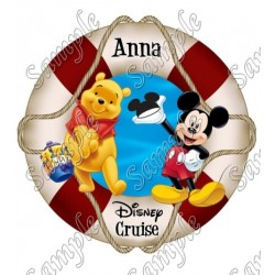 Disney World Vacation Pirate Custom Personalized T Shirt Iron on Transfer Decal #39