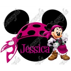 Disney World Vacation Pirate Custom Personalized T Shirt Iron on Transfer Decal #44