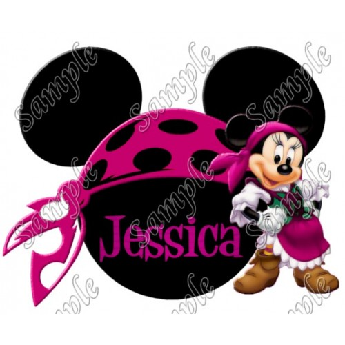 Disney World Vacation Pirate Custom Personalized T Shirt Iron on Transfer Decal #44 by www.shopironons.com