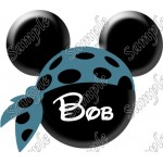 Disney World Vacation Pirate Custom Personalized T Shirt Iron on Transfer Decal #45 by www.shopironons.com