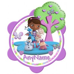 Doc McStuffins Custom Personalized T Shirt Iron on Transfer Decal #10