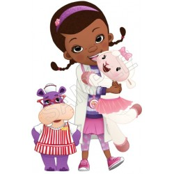 Doc McStuffins T Shirt Iron on Transfer Decal #13