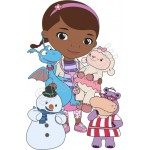 Doc McStuffins T Shirt Iron on Transfer Decal #14 by www.shopironons.com