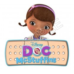 Doc McStuffins T Shirt Iron on Transfer Decal #3