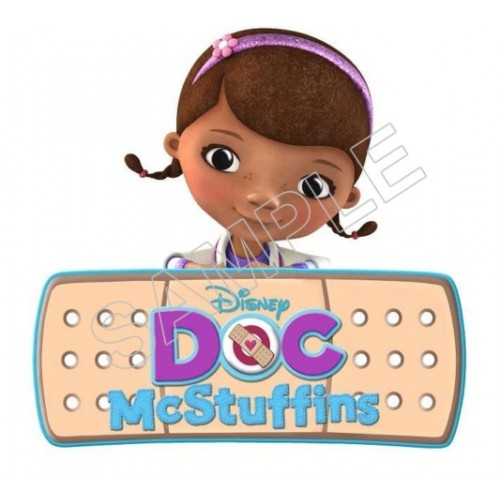 Doc McStuffins T Shirt Iron on Transfer Decal #3 by www.shopironons.com