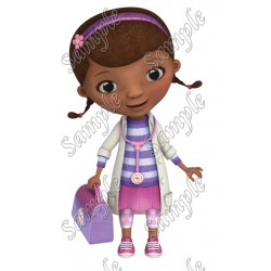 Doc McStuffins T Shirt Iron on Transfer Decal #36