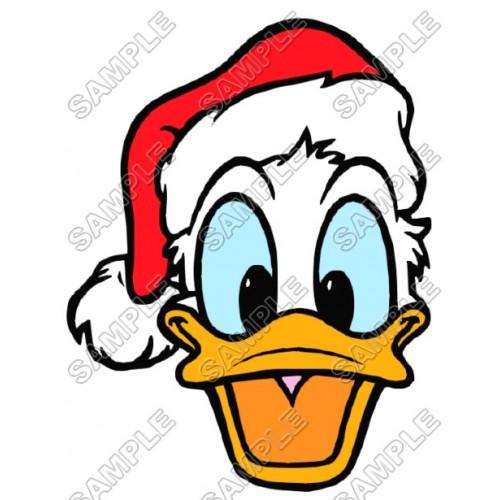 Donald Duck Santa Christmas T Shirt Iron on Transfer Decal #51 by www.shopironons.com