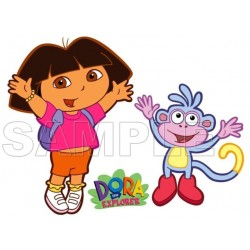 Dora and Boots T Shirt Iron on Transfer Decal #10