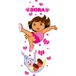Dora and Boots T Shirt Iron on Transfer Decal #9