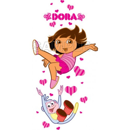 Dora and Boots T Shirt Iron on Transfer Decal #9 by www.shopironons.com