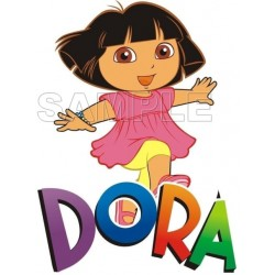 Dora T Shirt Iron on Transfer Decal #1