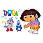 Dora T Shirt Iron on Transfer Decal #101 by www.shopironons.com