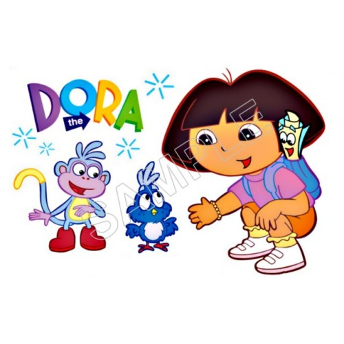 Dora T Shirt Iron on Transfer Decal #101 by www.shopironons.com