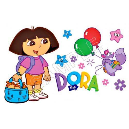 Dora T Shirt Iron on Transfer Decal #102 by www.shopironons.com