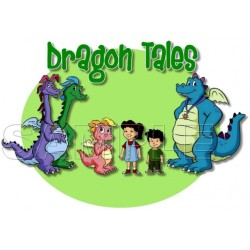 Dragon Tales T Shirt Iron on Transfer Decal #1