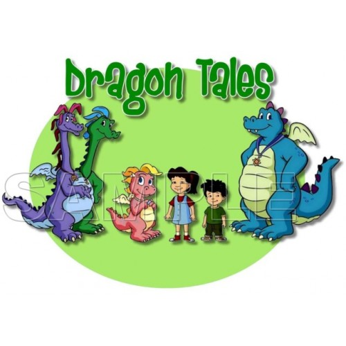 Dragon Tales T Shirt Iron on Transfer Decal #1 by www.shopironons.com