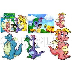 Dragon Tales T Shirt Iron on Transfer Decal #3