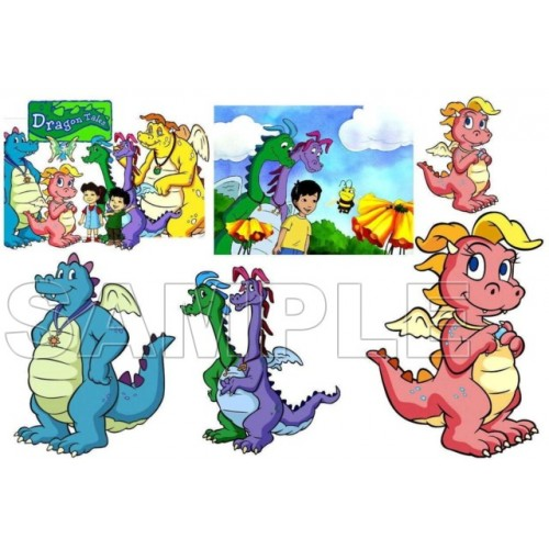 Dragon Tales T Shirt Iron on Transfer Decal #3 by www.shopironons.com