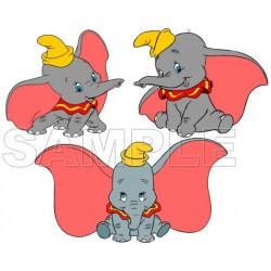 Dumbo T Shirt Iron on Transfer Decal #1