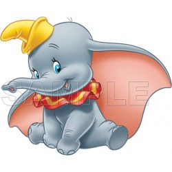 Dumbo T Shirt Iron on Transfer Decal #2